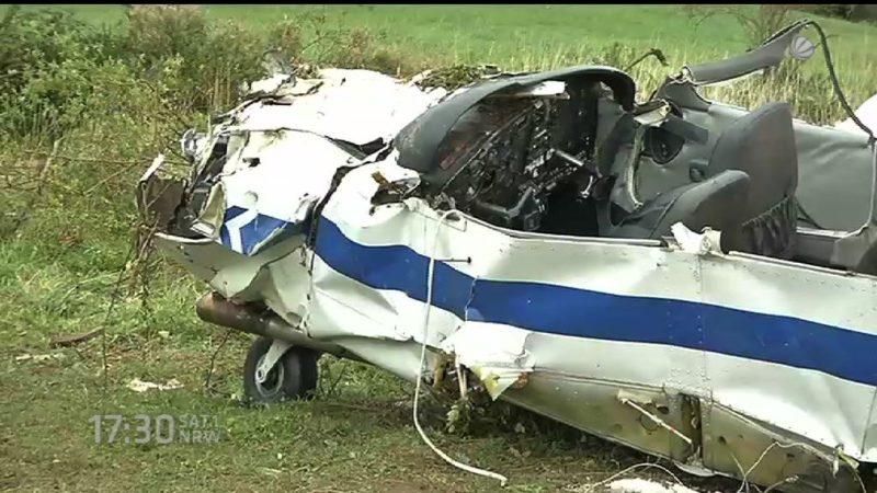 Vermisster Pilot gefunden (Foto: SAT.1 NRW)