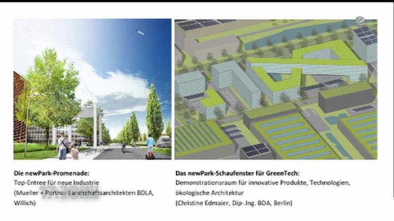 New Park Streit im Landtag (Foto: SAT.1 NRW)