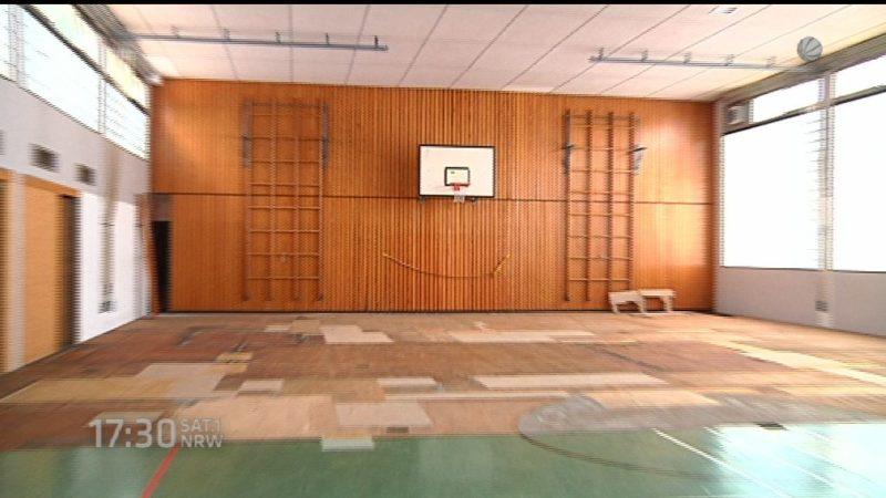 Sichere Turnhallen (Foto: SAT.1 NRW)