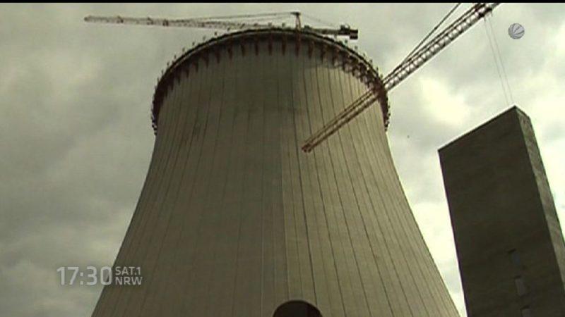 Streit um Kraftwerk in Datteln (Foto: SAT.1 NRW)
