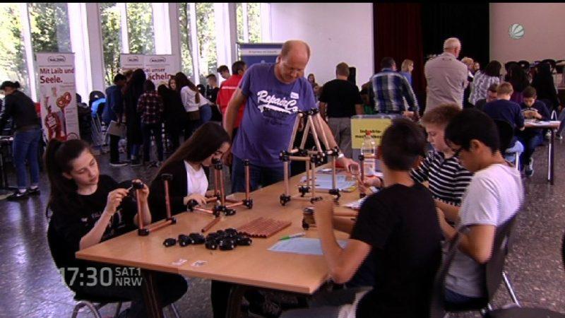 Talent-Tage Ruhr beginnen in Herne (Foto: SAT.1 NRW)