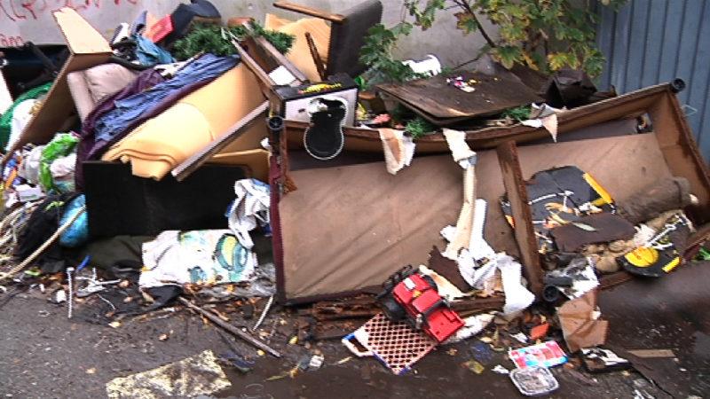 Müll, Randale, Gewalt und untragbare Zustände (Foto: SAT.1 NRW)
