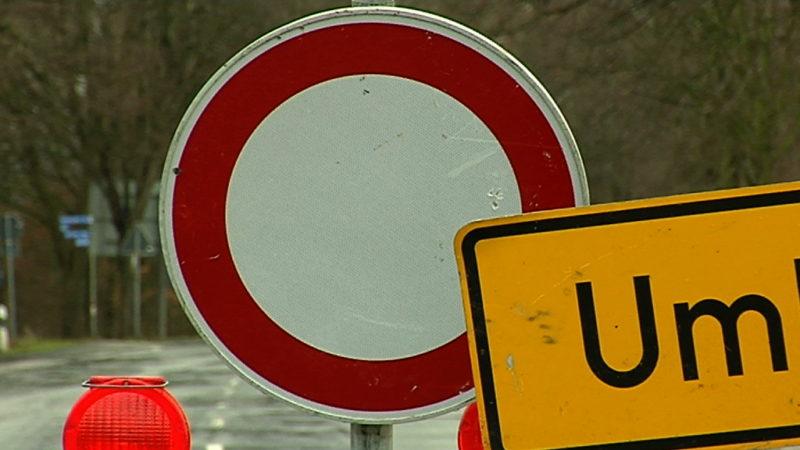 Straßensanierung belastet Anwohner (Foto: SAT.1 NRW)