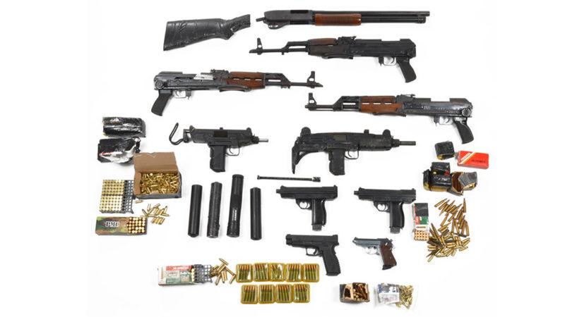 Schmuggler mit riesigem Waffenarsenal (Foto: Staatsanwaltschaft Aachen)