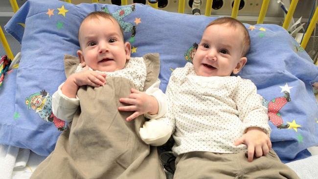Zwillingen geht's bestens (Foto: SAT.1 NRW)