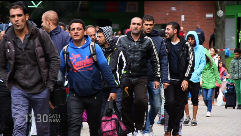Wieviel hilft Merkels Asylplan? (Foto: SAT.1 NRW)