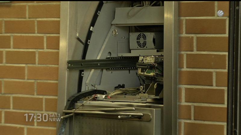Wieder Geldautomat gesprengt (Foto: SAT.1 NRW)