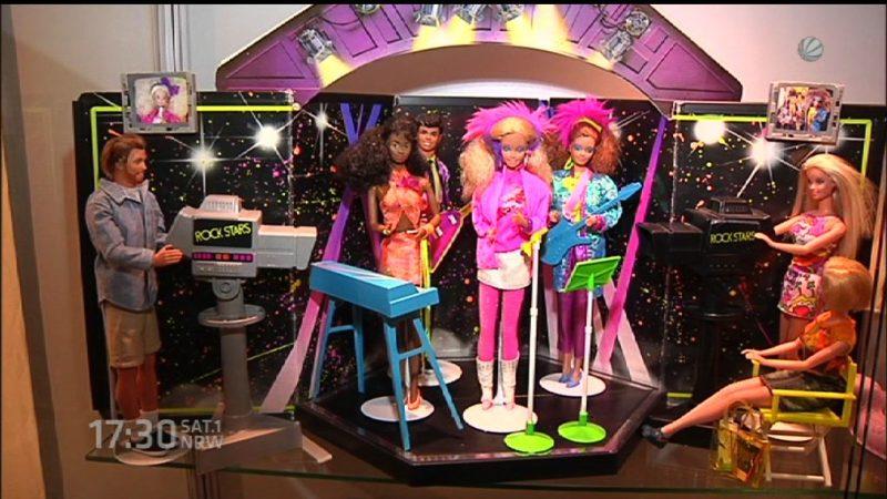 Ausstellung zeigt emanzipierte Barbies (Foto: SAT.1 NRW)