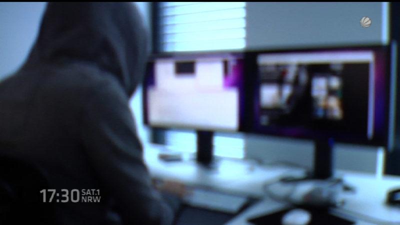 Razzia gegen Cyberkriminalität (Foto: SAT.1 NRW)