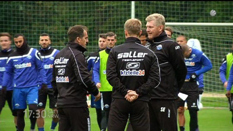 Effes erstes Training beim SC Paderborn (Foto: SAT.1 NRW)