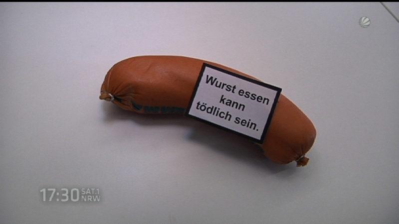 Wie gefährlich ist Wurst wirklich? (Foto: SAT.1 NRW)