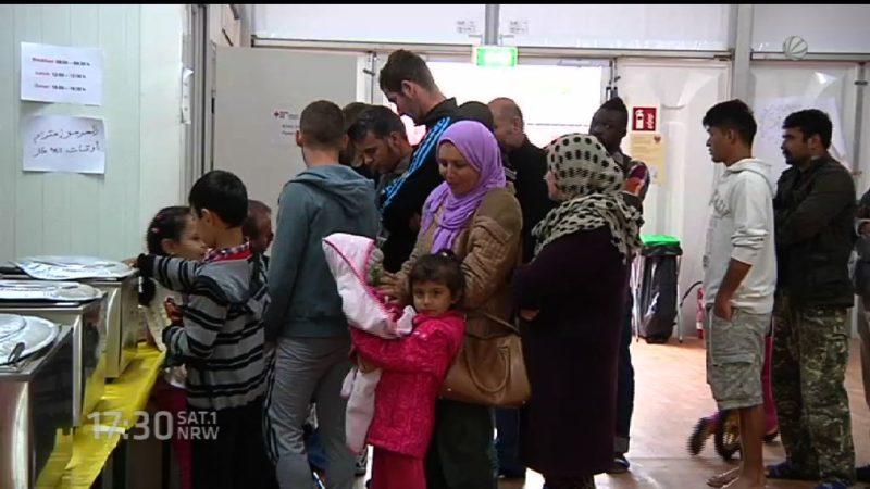 Stadt kündigt Mietern wegen Flüchtlingen (Foto: SAT.1 NRW)