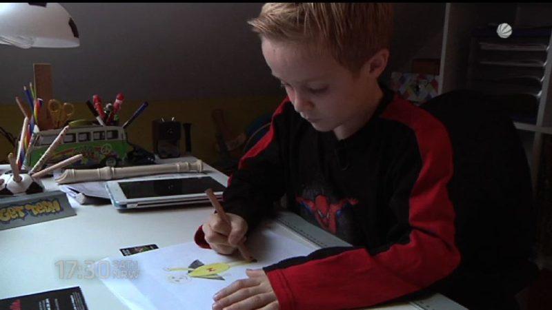 8-Jähriger will Flüchtlingen helfen (Foto: SAT.1 NRW)