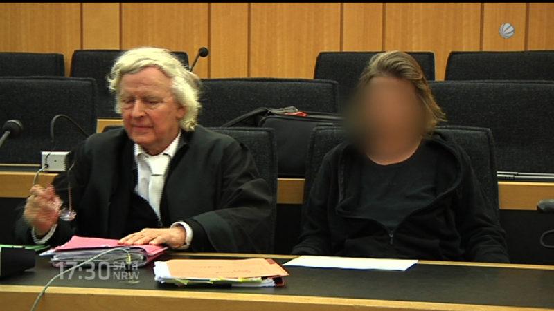 Prozess: Kinder ermordet (Foto: SAT.1 NRW)