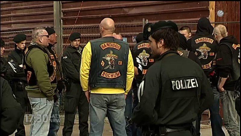 Zahl der Rocker in NRW hat sich verdreifacht (Foto: SAT.1 NRW)