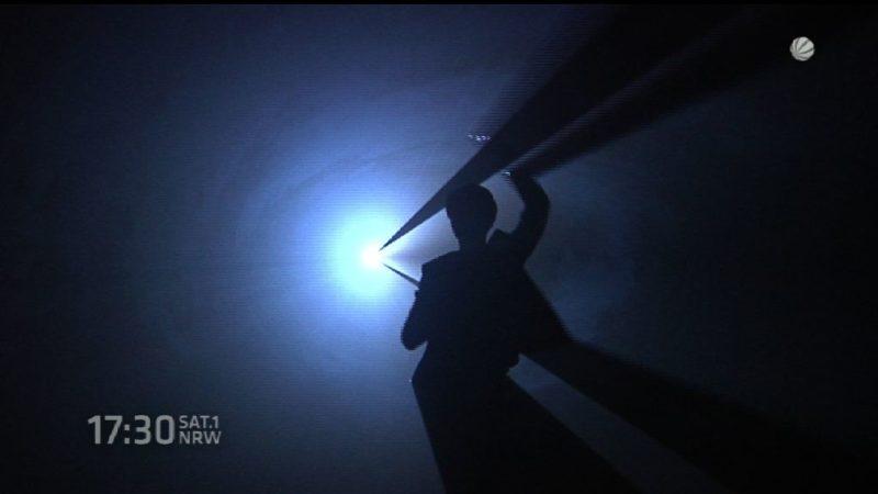 NRWs dunkelste Ausstellung (Foto: SAT.1 NRW)