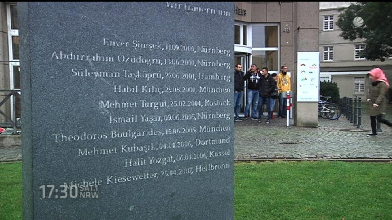 NSU-Untersuchungsausschuss besucht Tatort (Foto: SAT.1 NRW)