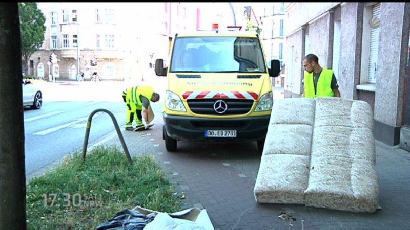 Müllmänner aus Osteuropa (Foto: SAT.1 NRW)