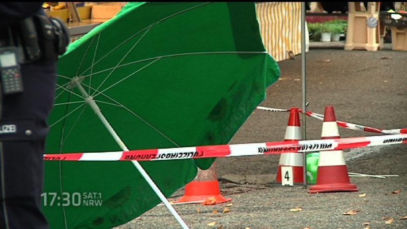 Nach dem Attentat auf Henriette Reker (Foto: SAT.1 NRW)