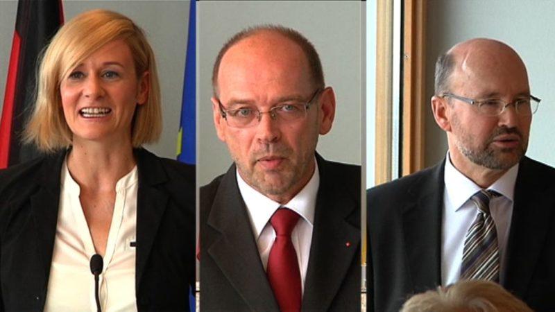 Neue Minister vereidigt (Foto: SAT.1 NRW)