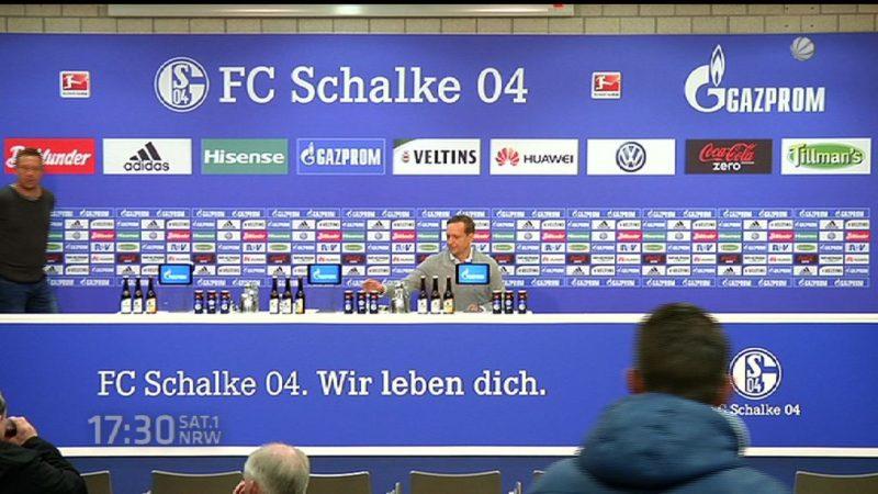 Gerüchte um Schalke Manager Horst Heldt (Foto: SAT.1 NRW)