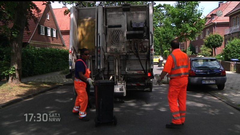 Bundeskartellamt untersucht Höhe der Müllgebühren (Foto: SAT.1 NRW)
