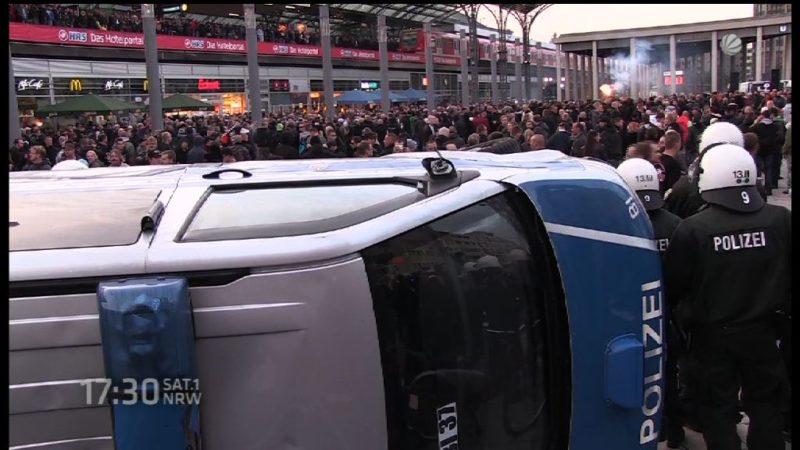 Hooligan-Demo in Dortmund (Foto: Archiv)