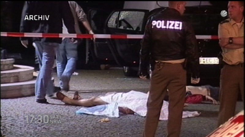 Flüchtige Mafia-Gangster verhaftet (Foto: SAT.1 NRW)