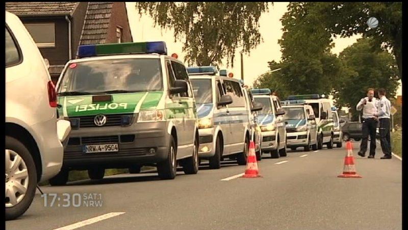 Polizeiwagen von VW-Skandal betroffen (Foto: SAT.1 NRW)