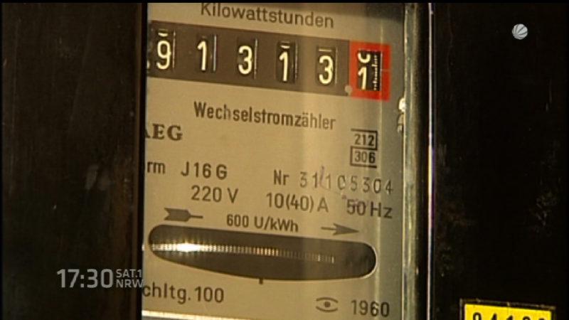Strompreise steigen (Foto: SAT.1 NRW)