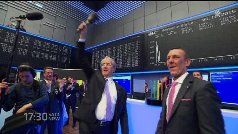 Größter Börsengang seit Jahren (Foto: SAT.1 NRW)
