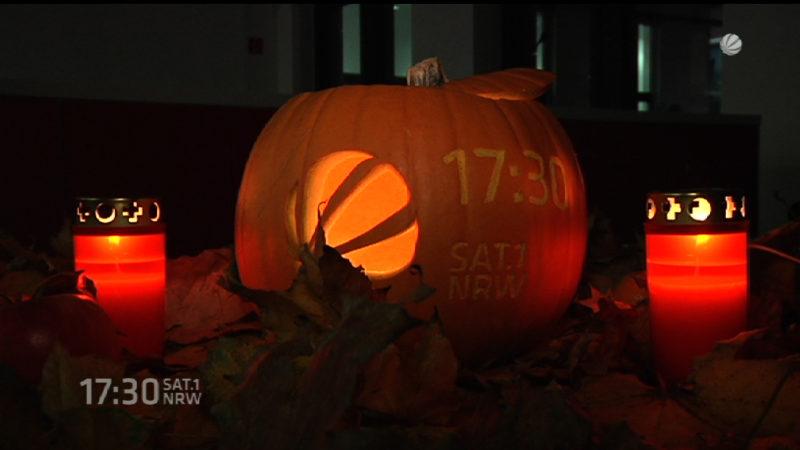 Bauern in NRW freuen sich über Halloween (Foto: SAT.1 NRW)