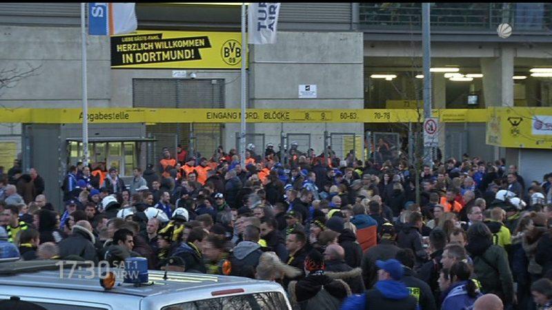 Weniger Auswärtskarten für Revierderby in Dortmund (Foto: SAT.1 NRW)