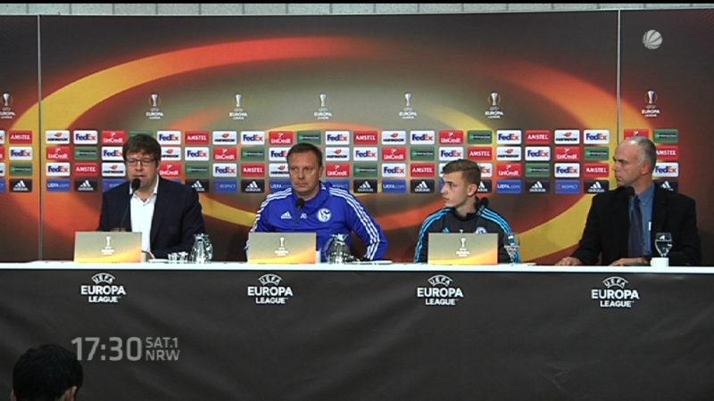 Schalke und die Heldtfrage (Foto: SAT.1 NRW)