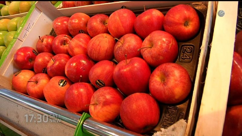 Lebensmittel sind teurer geworden (Foto: SAT.1 NRW)