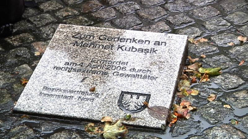 Dortmund weiht Mehmet Kubasik-Platz ein (Foto: SAT.1 NRW)