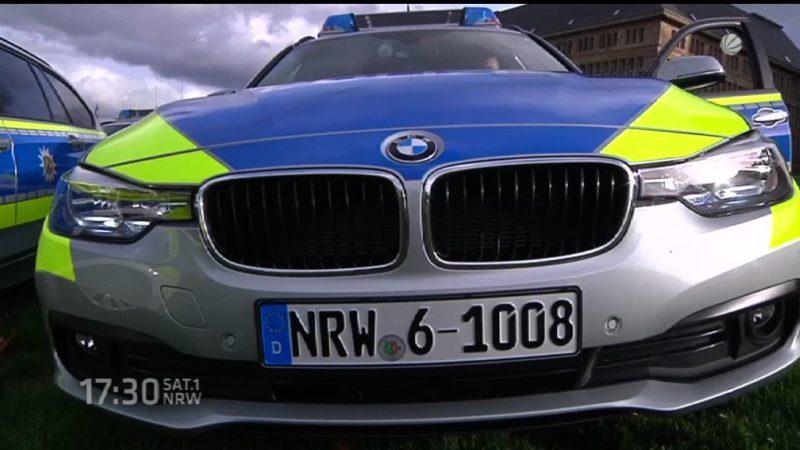 NRW-Polizei fährt jetzt BMW (Foto: SAT.1 NRW)
