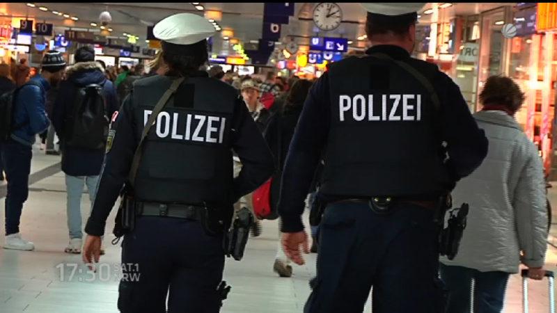 Polizei gut genug ausgerüstet im Terrorfall? (Foto: SAT.1 NRW)
