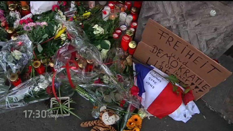 NRW nach den Anschlägen von Paris (Foto: SAT.1 NRW)