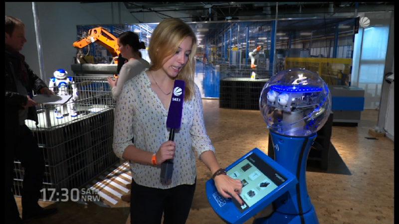 Roboterausstellung in Dortmund (Foto: SAT.1 NRW)