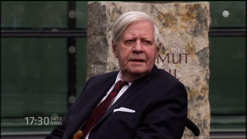 NRW gedenkt Altkanzler Helmut Schmidt (Foto: SAT.1 NRW)