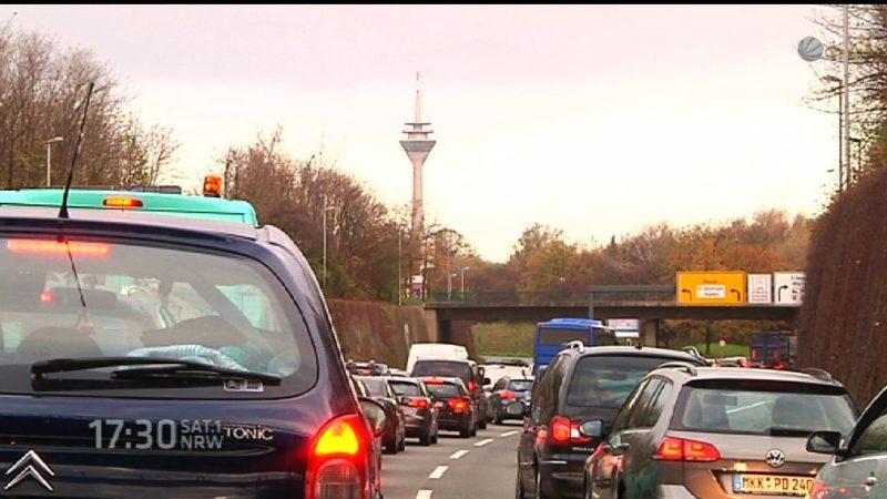 Zu viel Stau in NRW (Foto: SAT.1 NRW)