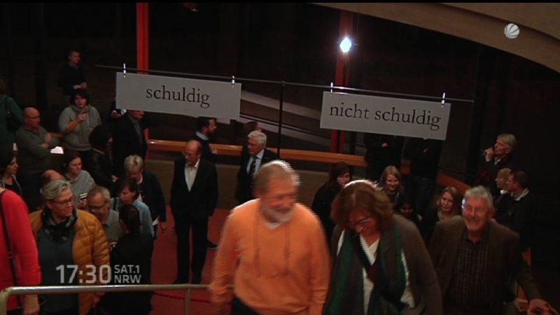 Terror im Theater (Foto: SAT.1 NRW)