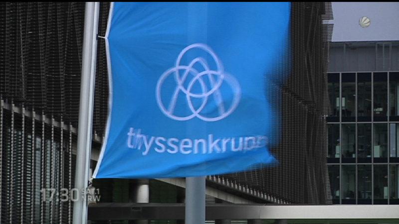 ThyssenKrupp wird neu (Foto: SAT.1 NRW)