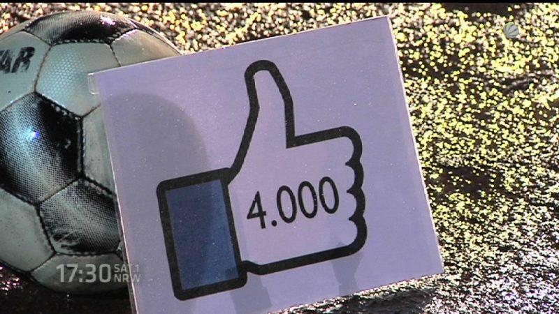 Witzige Facebook-Aktion (Foto: SAT.1 NRW)