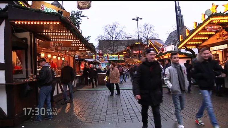 Terrorgefahr auf dem Weihnachtsmarkt? (Foto: SAT.1 NRW)