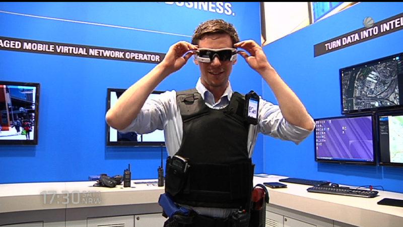 Polizei der Zukunft (Foto: SAT.1 NRW)