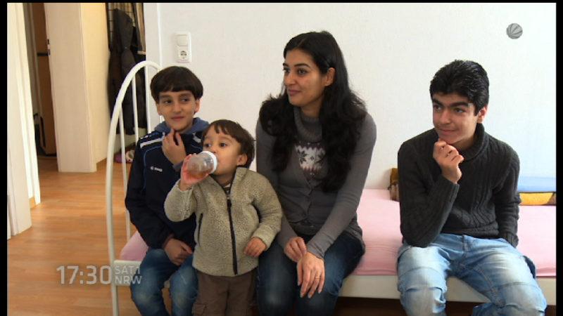 Altena will mehr Flüchtlinge (Foto: SAT.1 NRW)