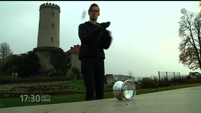 Yoyomeister aus NRW (Foto: SAT.1 NRW)