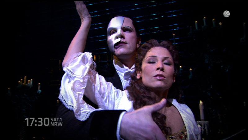 Phantom der Oper startet (Foto: SAT.1 NRW)